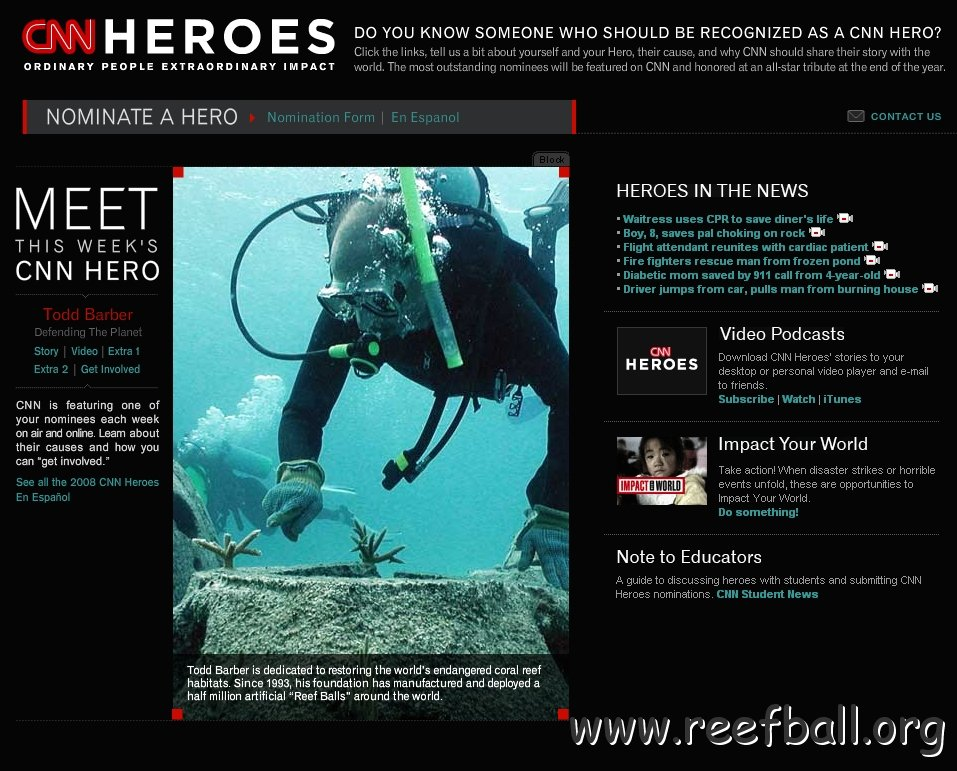 Reef Ball Photo Datebase   recall your URL and request hi