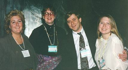 dema93.jpg - Jane Brawley, Melanie Morgan, Todd Barber and Laura Shellhorse.