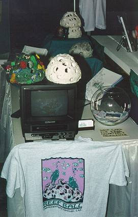 dema93tjanesrb.jpg - Our first booth..pretty tiny huh?